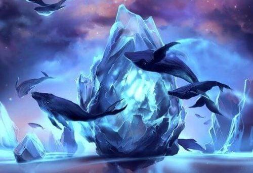 wieloryby i góry