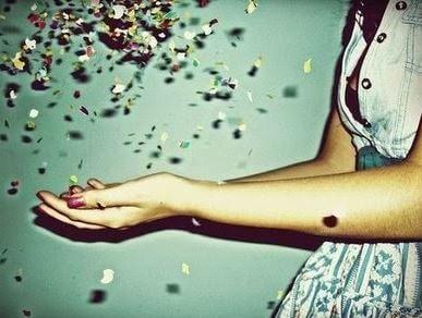 Dziewczyna z konfetii.