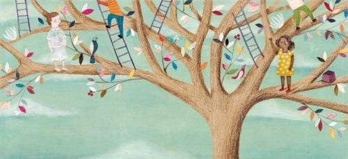 Ludzie na drzewie - indywidualne doświadczenia