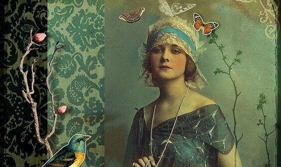 kobieta vintage