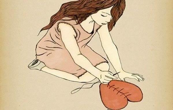 Miłość - czasami serce trzeba zszyć.