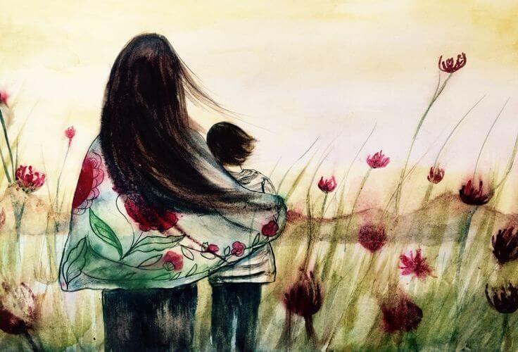 Matka i syn.