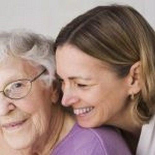 Opieka nad kimś - opiekunka osób starszych