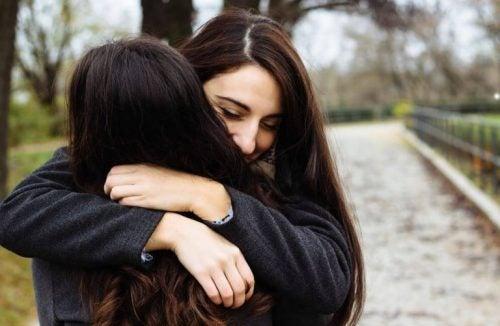 Przytulone przyjaciółki - zrozumienie