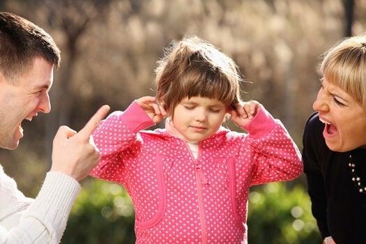 Dziecko nie słucha krzyczących rodziców