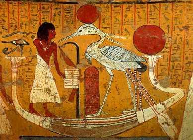 Feniks w Egipcie.
