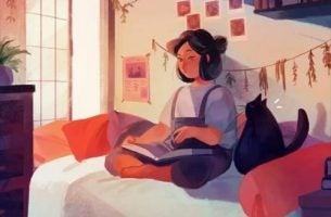 Kobieta i książka o mnie