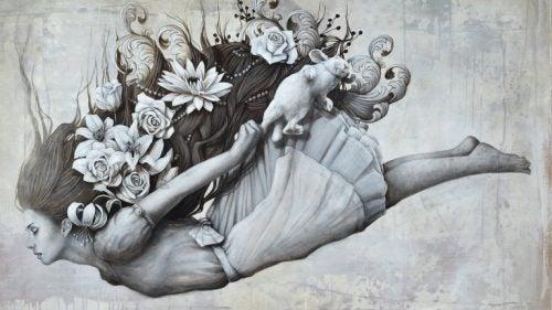 Kobieta spadająca bez strachu - nasze życie