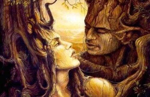 Uśpiona miłość - ludzie drzewa.