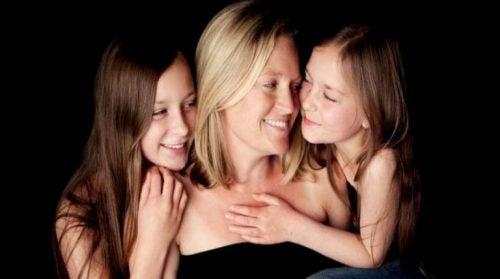 Mama i dwie córki - sesja zdjęciowa