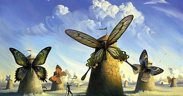Motyle - wiatraki
