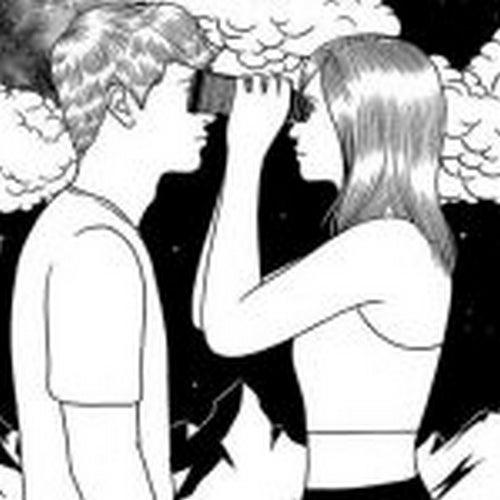 Oglądająca się para - niemożliwa miłość