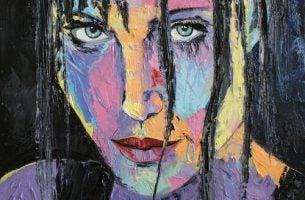Obraz - kobieta, która patrzy