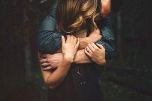 Para przytula się - miłość