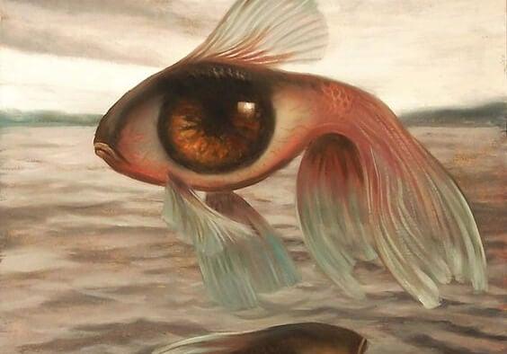 Ryba z wielkim okiem.