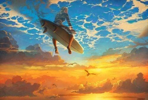 Surfowanie po niebie