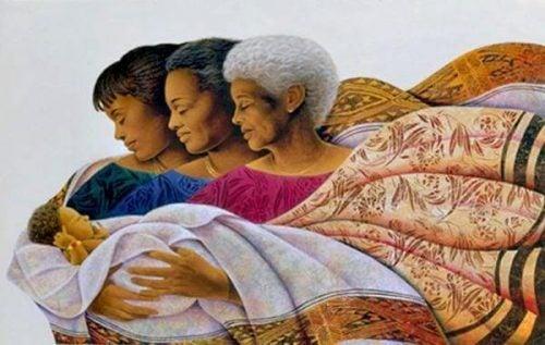Trzy matki - nadane nam imię