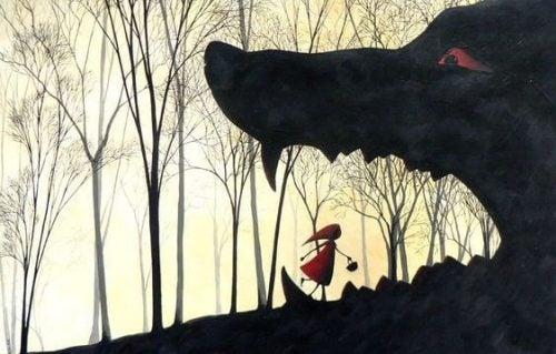 Wilk i Czerwony Kapturek