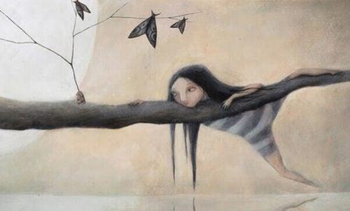 Franzesca-Dafne - dziewczyna na gałęzi