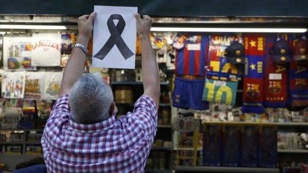 Terroryzm w Barcelonie.