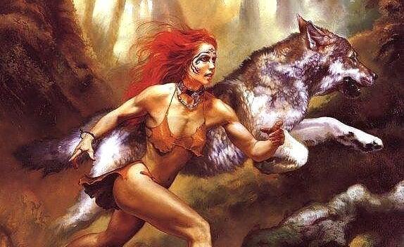 Biegnąca z wilkami