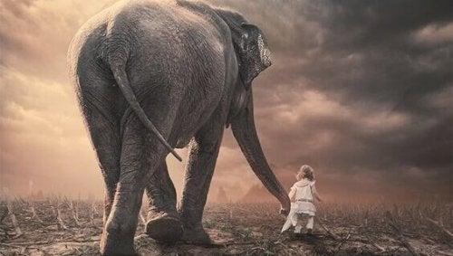 Dla dziecka czas mija jak powolny słoń