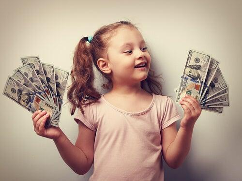 Syndrom bogatego dziecka.
