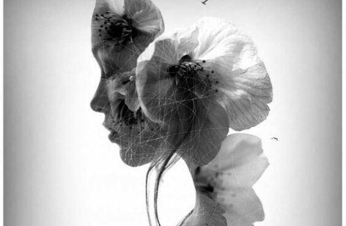 Kobieta-kwiat.