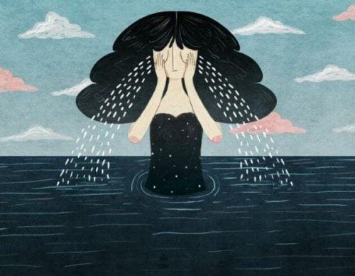Płaczące kobieta - jak pokonać smutek
