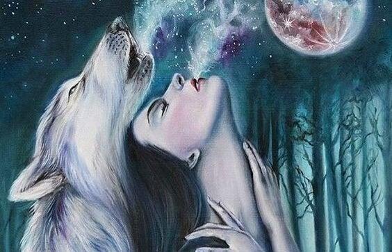 Kobieta i wilk