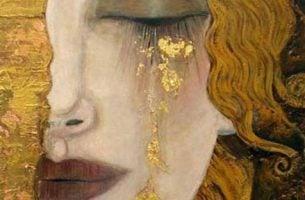Tam, gdzie są łzy jest i nadzieja. Kobieta ze złotymi łzami.