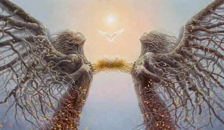 Teoria lustra: rany, które tworzą i niszczą związki - Piękno umysłu
