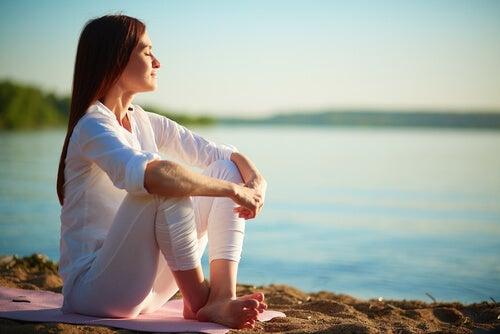 Medytacja na łonie natury.