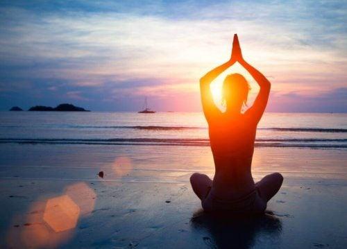 Błędny nerw - joga