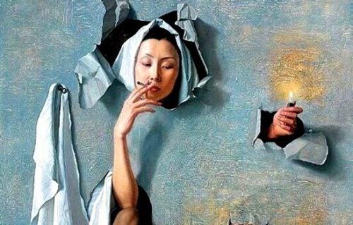 Nawyk palenia - co się za nim kryje?