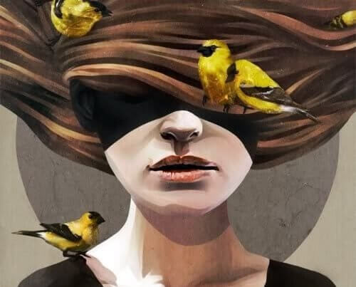 Ptaki we włosach