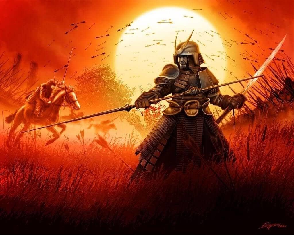walka samurajów