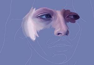 zmartwiona kobieta - ryzyko depresji