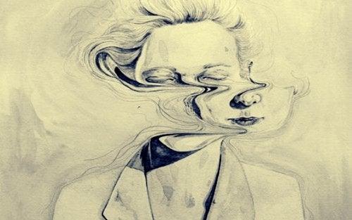 Twarz prawdy zniekształcona przez kłamstwo