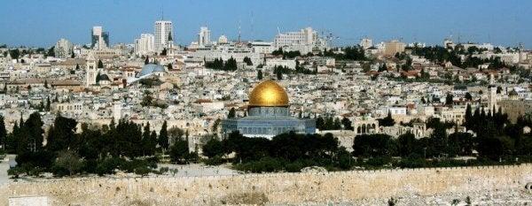 Jerozolima - panorama miasta.