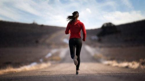Adrenalina, biegaczka