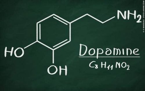 wzór strukturalny dopaminy