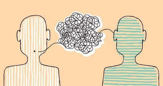 Rozmowa - nieporozumienie.