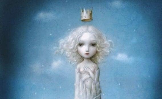 dziecko z koroną