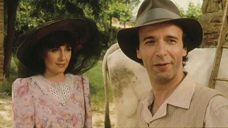 Guido i Dora z filmu Życie jest piękne