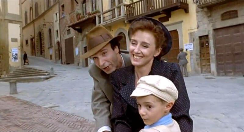Guido ze swoją rodziną