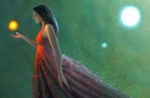 Kobieta i światło - czas