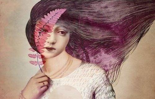 Kobieta z piórem
