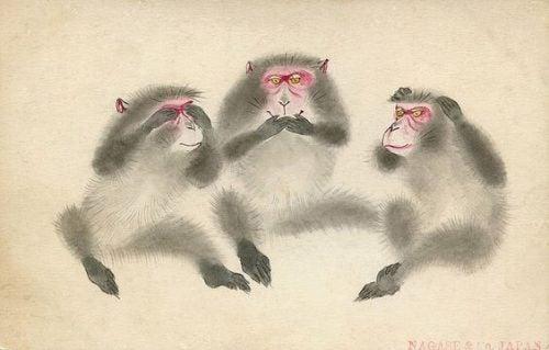 Trzy Mądre Małpy - lekcja w Sanktuarium Toshogu