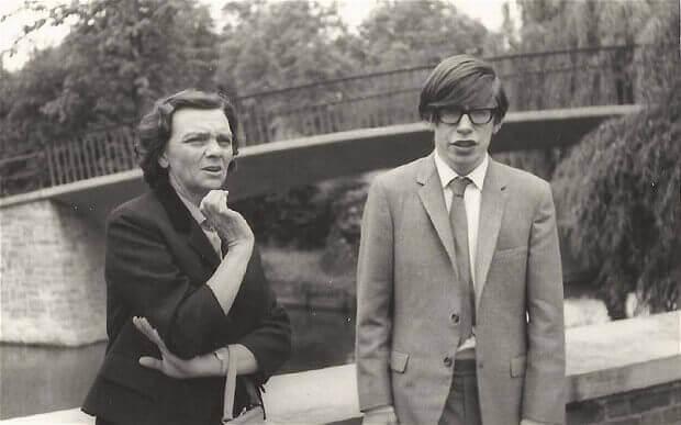 Młody Stephen Hawking